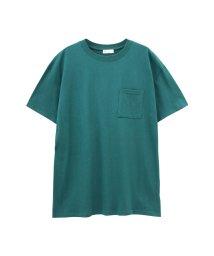 MAC HOUSE(women)/Free Nature ポケット付きビッグシルエットTシャツ MH896-706B/501965547