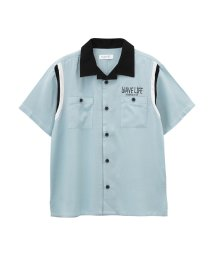 MAC HOUSE(kid's)/Free Nature HAWAII ボーイズ 開襟シャツ 362573044/501965564