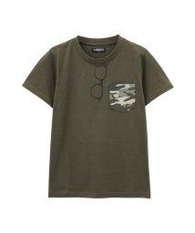 MAC HOUSE(kid's)/T-GRAPHICS ティーグラフィックス ボーイズ ポケット付きTシャツ 362573047/501965576
