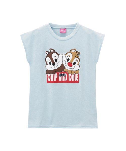 MAC HOUSE(kid's)(マックハウス(キッズ))/LOVE-T ガールズ チップとデール Tシャツ 326102013/03222002263