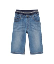 MAC HOUSE(kid's)/Navy ボーイズ RUN DENIM COOL ハーフパンツ M21458/501965593