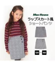 MAC HOUSE(kid's)/RUSH HOUR ガールズ ウールライク起毛ショートパンツ MH696-006/501965605