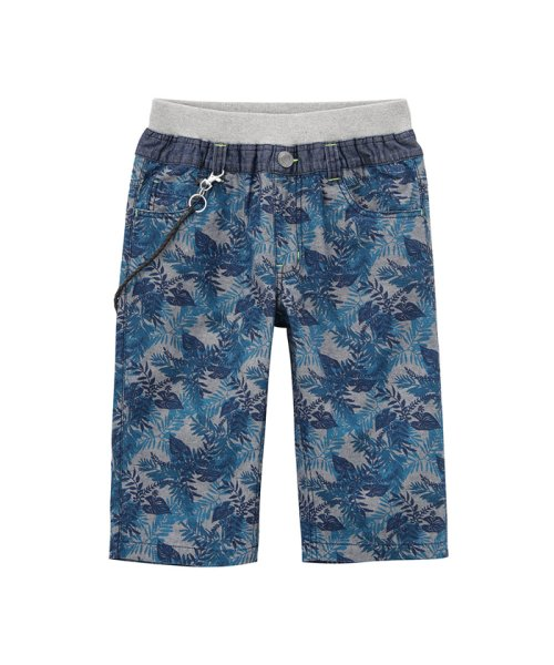 MAC HOUSE(kid's)(マックハウス(キッズ))/Navy ボーイズ チェーン付きハーフパンツ 362573035/03333900484