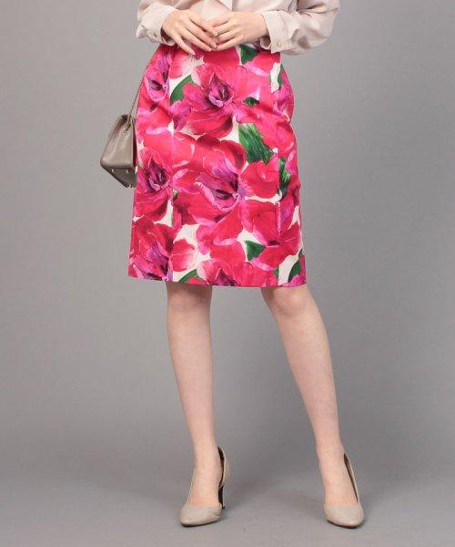 ELISA(エリザ)/【セットアップ対応商品】メガフラワープリントスカート/27110051