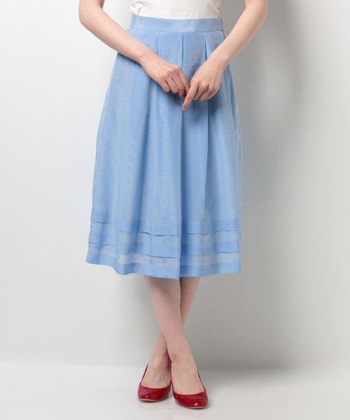 ELISA(エリザ)/シルクコットンボイルスカート/27110091