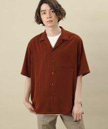 JUNRed/ドレープオープンカラーシャツ/501968248