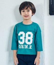 green label relaxing (Kids)/ナンバープリントプルオーバー/501566321