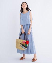 LANVIN en Bleu/ノースリーブマキシワンピース/501581874