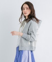 LANVIN en Bleu/バックティアードフリルパーカー/501581883