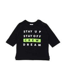 BREEZE / JUNK STORE/ボックスロゴ7分袖Tシャツ/501588958