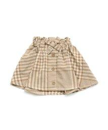 BREEZE / JUNK STORE/チェック切替スカート/501589054