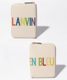 LANVIN en Bleu/ロゴ2つ折り財布/501878197