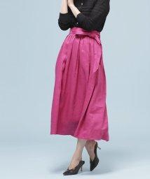 nano・universe/★【Marisol・LEE 6月号掲載】フレンチリネンギャザースカート/501942876