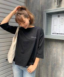 CIEL AIR/プリントロゴTシャツ/501954108