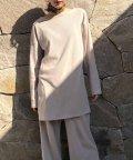 CIEL AIR/【セットアップ対応商品】リブフレア袖トップス/501954115