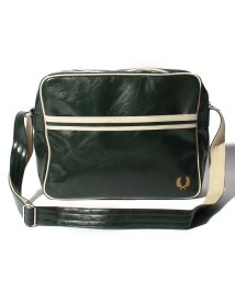 FRED PERRY/【FRED PERRY】FRED PERRY L3331 CLASSIC SHOULDER BAG NAVY-ECRU/501954888