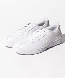 FRED PERRY/【FRED PERRY】FRED PERRY B1 FP TENNIS SHOE CANVAS B1 WHITE/501954897