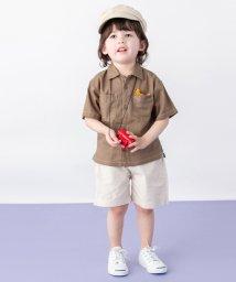 petit main/オープンカラーシャツ/501959486