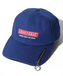 Lovetoxic/ZIP付BOXロゴ ローキャップ/501959500