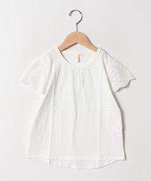 LAGOM/袖レースTシャツ/501959812
