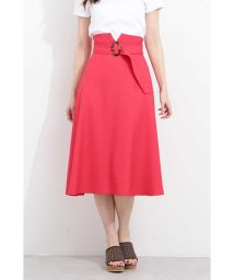 PROPORTION BODY DRESSING/◆ベルト付きツイルフレアースカート/501961860