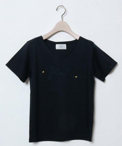 SCOTCLUB(スコットクラブ)/Vin(ウ゛ァン) テープロゴTシャツ/081253975