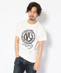 Schott/EMBROIDERED T-SHIRT RIDE FAST/刺繍Tシャツ ライドファスト/501968861