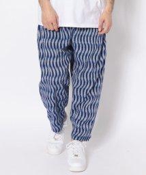 BEAVER/BOHEMIANS/ボヘミアンズ BLUE IKAT LOOSE PANTS/501968872