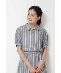 NATURAL BEAUTY BASIC/[洗える]ランダムストライプシャツ/501969147