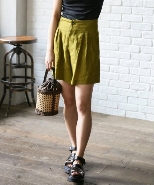JOURNAL STANDARD relume(ジャーナルスタンダード レリューム)/【OR ~MIXED BUSINESS~】PLEATED SHORT LINEN:ショートパンツ/19030463000310