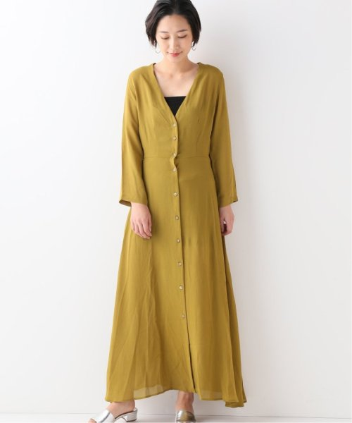 JOURNAL STANDARD relume(ジャーナルスタンダード レリューム)/【OR ~MIXED BUSINESS~】BUTTON UP DRESS RAYON:ワンピース/19040463000810