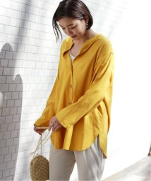 JOURNAL STANDARD relume/【OR ~MIXED BUSINESS~】BASIC BUTTON UP SILK NOIL:ブラウス/501970626