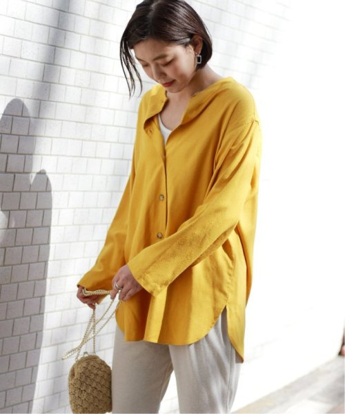 JOURNAL STANDARD relume(ジャーナルスタンダード レリューム)/【OR ~MIXED BUSINESS~】BASIC BUTTON UP SILK NOIL:ブラウス/19051463000410