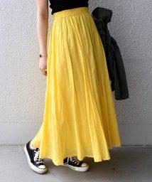 Khaju/Khaju:カラーマキシスカート/501970757