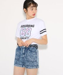PINK-latte/ナンバリング Tシャツ/501971142