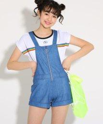 PINK-latte/水着 サロペット+肩あきTシャツセット/501971153