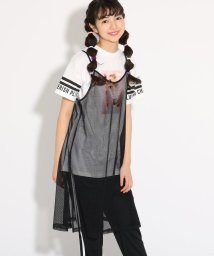 PINK-latte/キャミワンピース+Tシャツ セット/501971155