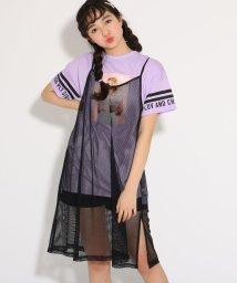 PINK-latte/★ニコラ掲載★キャミワンピース+Tシャツ セット/501971155