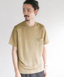URBAN RESEARCH/【UR】リネンプレーティングTシャツ/501931537
