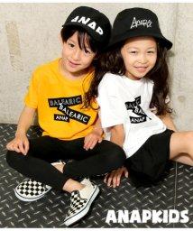 ANAP KIDS/プリントビッグスリットTシャツ/501947224