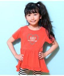 ANAP KIDS/ハートロゴフリルチュニック/501956241