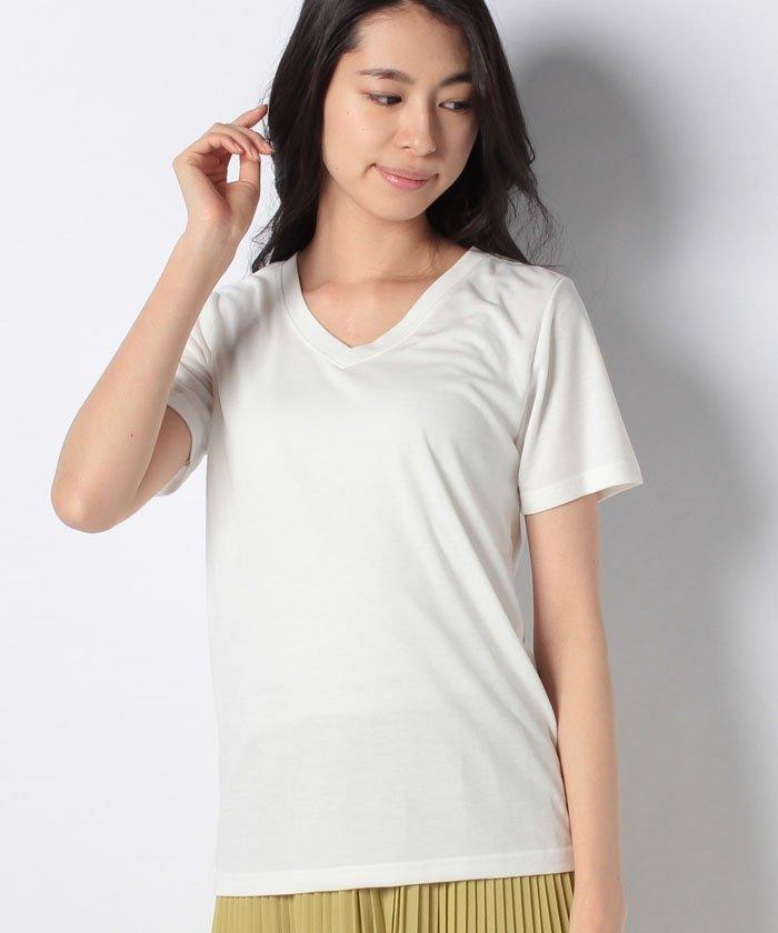 ESSENTIAL VネックTシャツ