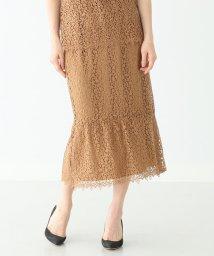 Demi-Luxe BEAMS/Demi-Luxe BEAMS / ケミカルレース スカート/501959531