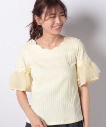 Dear Princess/ランダムテレコカットソー半袖Tシャツ/501962433