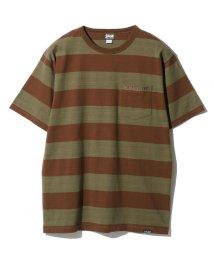 Schott/BORDER POCKET T-SHIRT/ボーダーポケットTシャツ/501971374
