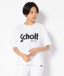 Schott/Women's/BASIC LOGO T-SHIRT/ベーシック ロゴTシャツ/501971378