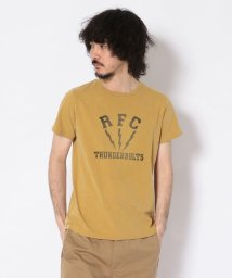UNCUT BOUND/【2nd 7月号掲載】【2nd 7月号掲載】REMI RELIEF(レミレリーフ)  別注スペシャル加工Tシャツ (RCF)/501971387