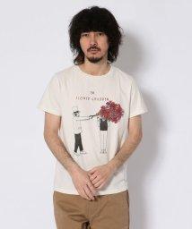 UNCUT BOUND/REMI RELIEF(レミレリーフ)  別注スペシャル加工Tシャツ  the flower children/501971390