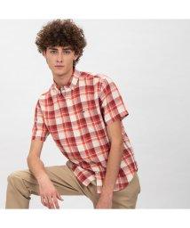 LACOSTE Mens/リネンチェックボタンダウンシャツ/501971398