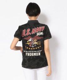 AVIREX/Women's/ネイビー シールズ ポロシャツ/NAVY SEALs POLO/501971399